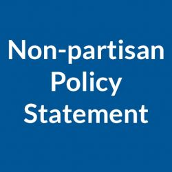 Non-partisan Policy Statement