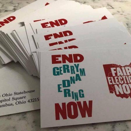 End Gerrymandering Postcards